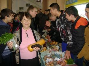 Благотворительная ярмарка в День студентов