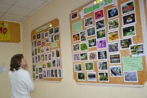 В фотообъективе лицеистов – природа Городского сада
