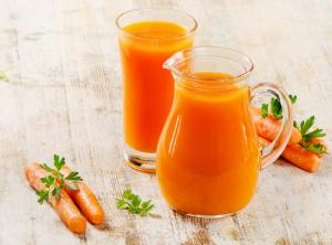 Разбавляйте морковный сок