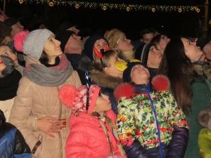Новый год на главной площади города: было громко, ярко и многолюдно!