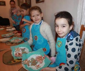 Волшебный рождественский пряник руками любимых детей