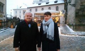 Савченко поехала в Европу