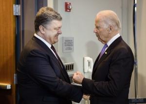 Порошенко встретится с Байденом во время визита вице-президента США в Украину