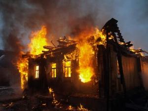 Житель Суворово сгорел в собственной постели