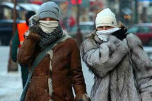 Мороз хватает за нос