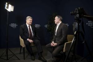 Порошенко: Украина и США защищают общие ценности — свободу и демократию