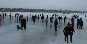 Ледовое пати на Лебяжьем: море удовольствия и позитива