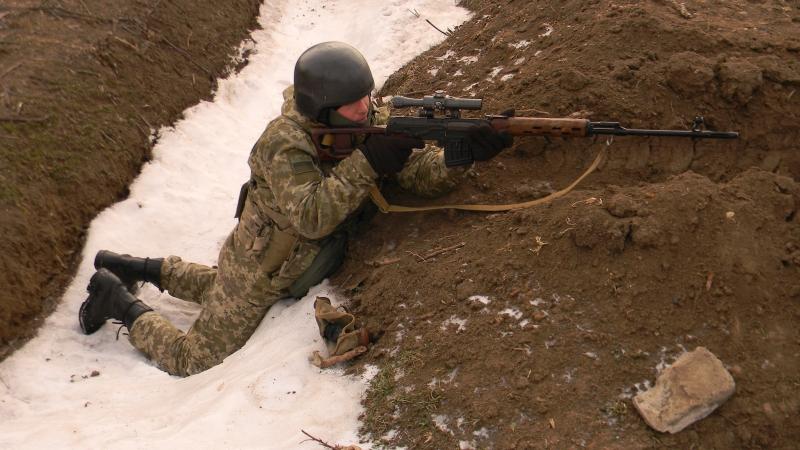 В Измаильском пограничном отряде прошли учения с боевой стрельбой