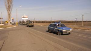 Автопарк Измаильского пограничного отряда пополнился современными бронемашинами