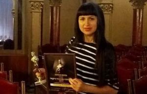 """Катя Лемешева получила """"оскара"""" как лучший художник года"""