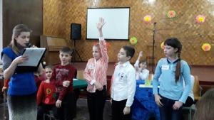 В ОШ №9 соревновались юные пожарные