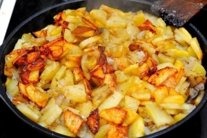 Умеете ли вы... жарить картошку?