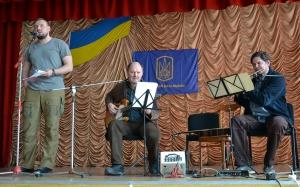 Музыканты из Винницы выступили перед студентами университета