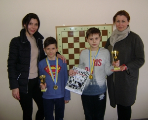 Детский чемпионат города по шахматам завершён!