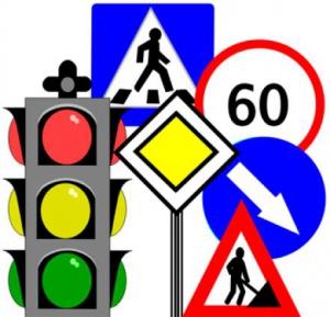 Школьников учили, как вести себя на дорогах