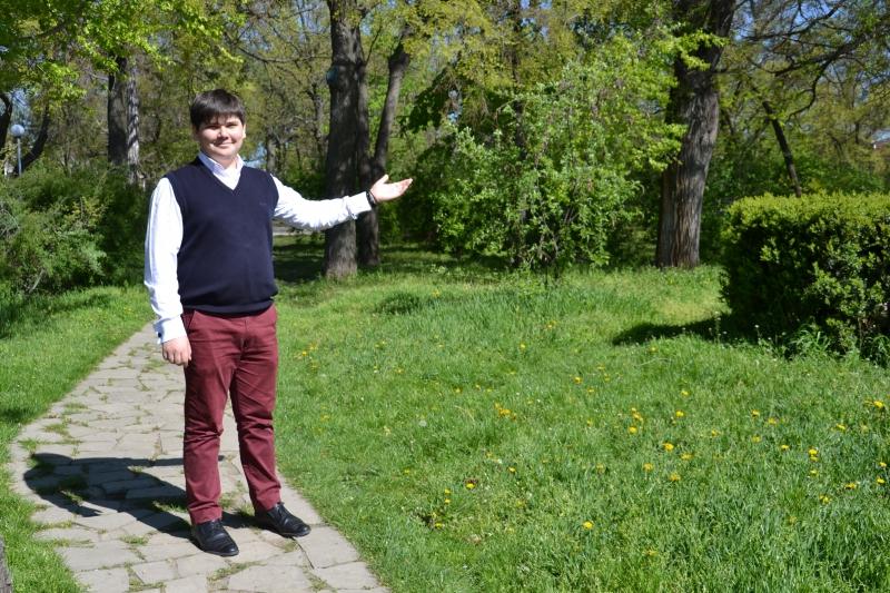 Измаильский школьник разработал экологическую тропу по Городскому саду