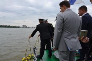 Помни, Дунай, о подвиге героев войны…