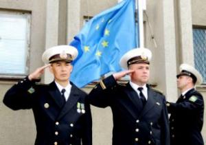 Над Измаилом взметнулся флаг Евросоюза!