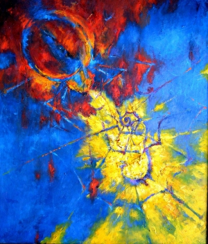 Наши абстракционисты приняли участие в киевской выставке