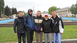 Пятёрка измаильских бегунов на десятикилометровке в Киеве