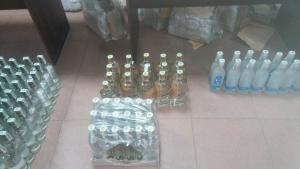 Пограничники выявили контрабандную водку и тысячи таблеток валерьянки
