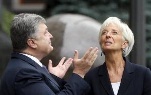 Лагард о встрече с Порошенко: Очень эффективно
