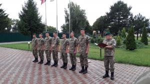 Измаильский погранотряд пополнили офицеры-выпускники