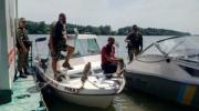 Пограничники Измаильского отряда задержали двух граждан Румынии, которые заблудились на реке Дунай
