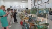 Лодки и рыбацкие сети: пленэр памяти Петра Чакира завершился выставкой