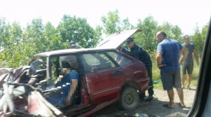"""На трассе """"Одесса-Рени"""" """"Смарт"""" столкнулся с """"Жигулями"""": трое погибших"""