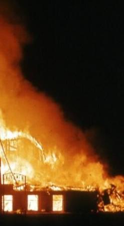 Масштабный пожар в Измаиле