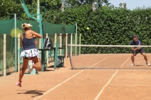 Парные теннисные баталии на кубок мэра