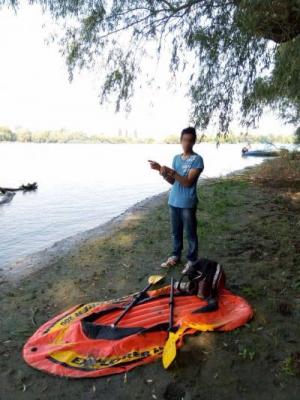 На Дунае задержали ехавшего нелегально в Германию гражданина Индии