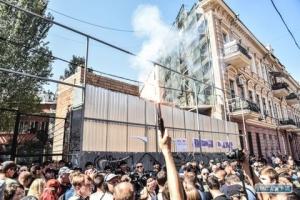 Одесские общественники выступили против строительства у знаменитого Дома-стены