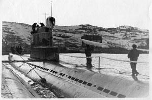 Подводники - профессия особенная