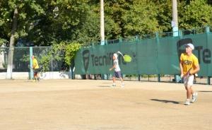 Среди теннисистов города определили сильнейших
