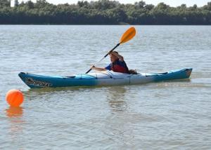 Бегущие по волнам: соревнования на каяках и SUP-бордах прошли в Измаиле