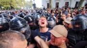 Одесса: оппозиционеры с боем прорываются на сессию