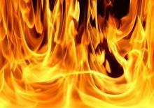В Одесской области загорелся бензовоз, серьезно пострадал водитель