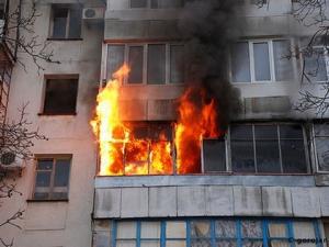 В Рени сгорела квартира с хозяином