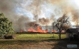Мегапожар в Одесской области уничтожил плавни