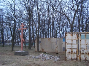 Крест установили без разрешений?