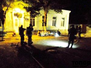В Болградском интернате ночью спасали детей