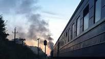 В поезде «Измаил-Киев» из-за окурка загорелся тамбур