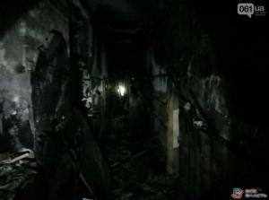 Пять человек сгорели в хостеле в Запорожье