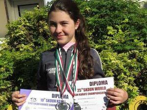 Настя Новоженина снова привезла медали: на этот раз из Венгрии