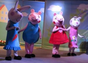 Свинка Пеппа в гостях у измаильских малышей