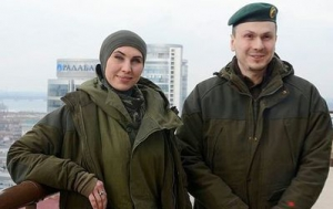 Под Киевом погибла патриот Амина Окуева, её супруг ранен