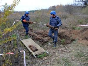 Эхо Второй мировой: под Николаевом обнаружили более 60 авиабомб
