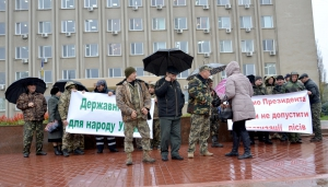 Работники Измаильского лесного хозяйства выступили в защиту неприкосновенности лесов Украины